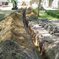 Klik voor grond- en rioolwerkzaamheden